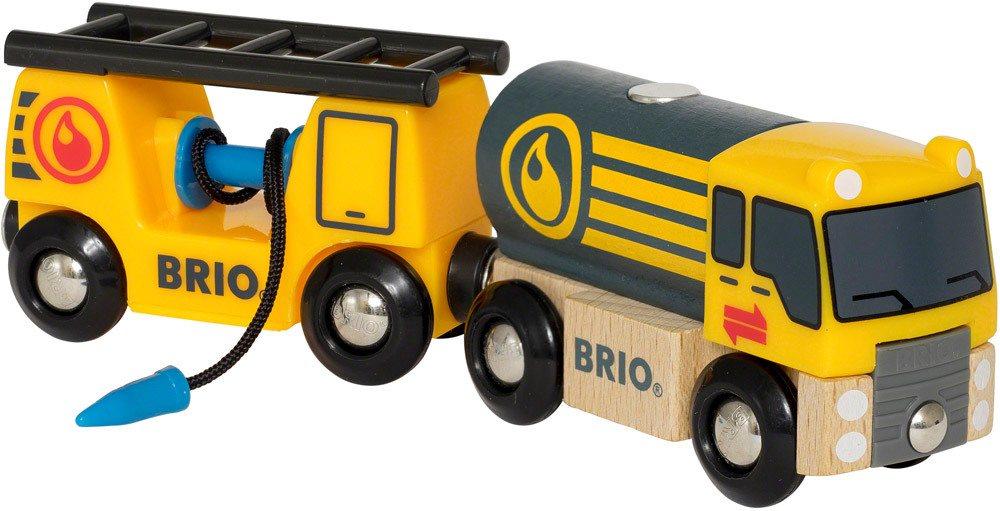BRIO Tankwagen mit Anhänger   Holzeisenbahn - Jetzt online kaufen