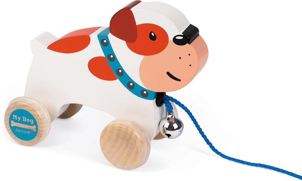Janod Nachziehtier Bulldogge   Weiteres Holzspielzeug - Jetzt online kaufen