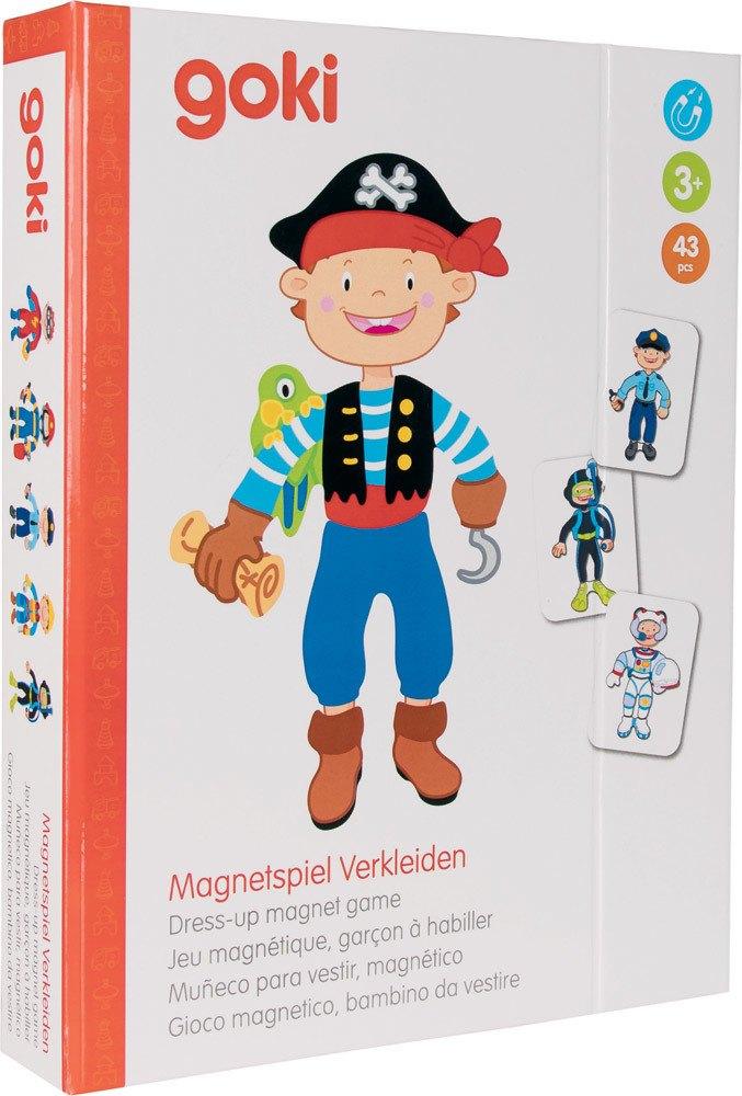Goki Magnetspiel Verkleiden Junge   Lernspiele - Jetzt online kaufen
