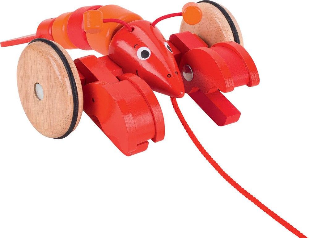 Goki Ziehtier Hummer   Weiteres Holzspielzeug - Jetzt online kaufen