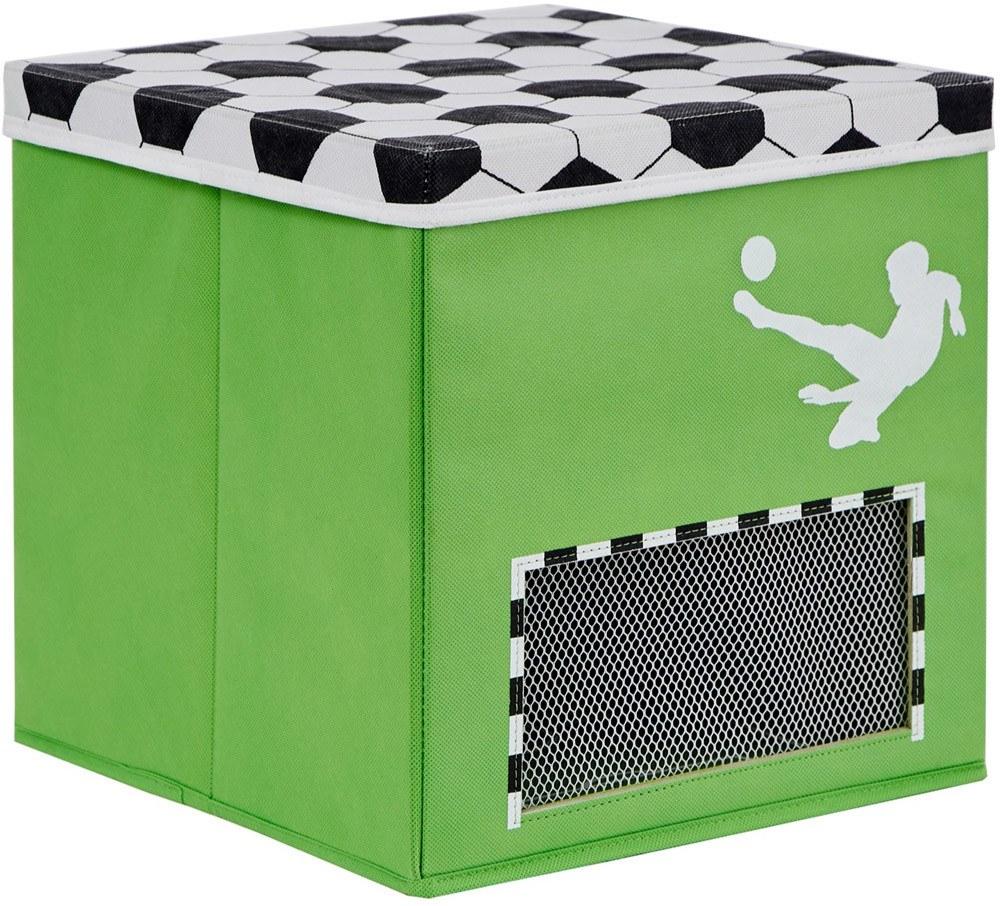 store it fu ballkiste mit deckel und tornetz spielzeugkiste jetzt online kaufen. Black Bedroom Furniture Sets. Home Design Ideas