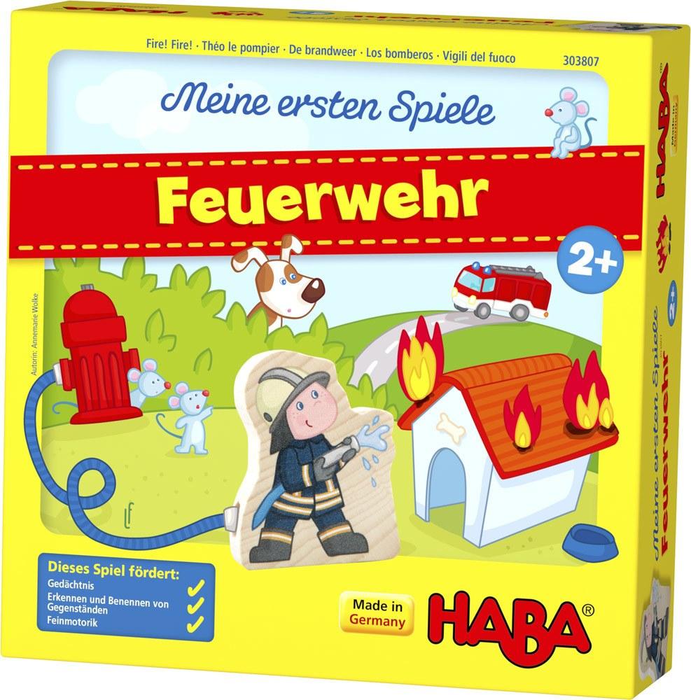 HABA Meine ersten Spiele – Feuerwehr   Brettspiele - Jetzt online kaufen