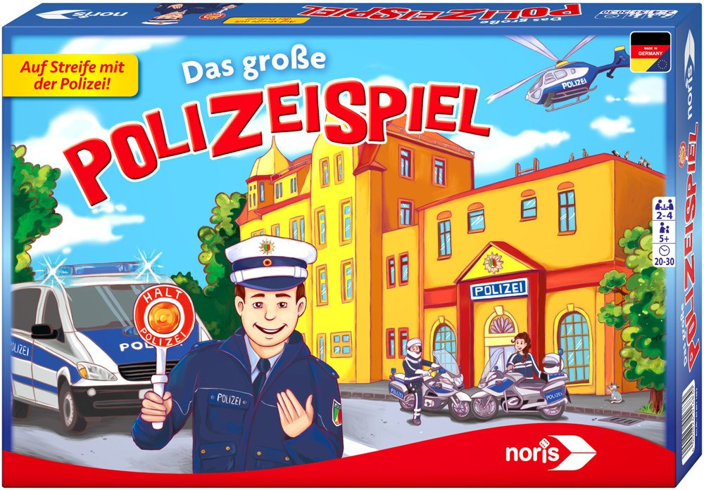 Noris Das große Polizeispiel   Brettspiele - Jetzt online kaufen