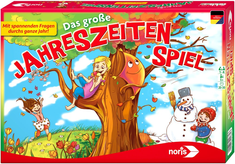 Noris Das große Jahreszeitenspiel   Brettspiele - Jetzt online kaufen