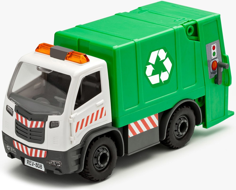 Revell Junior Kit Müllwagen Müllwagen Müllwagen   Konstruktionsspielzeug - Jetzt online kaufen 34a403