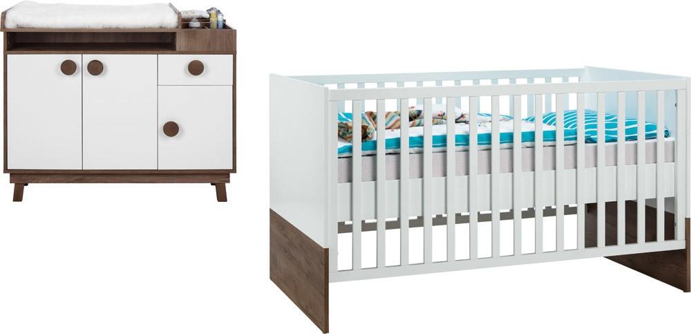 roba babyzimmer nordic star babyzimmer 2 teilig jetzt online kaufen. Black Bedroom Furniture Sets. Home Design Ideas