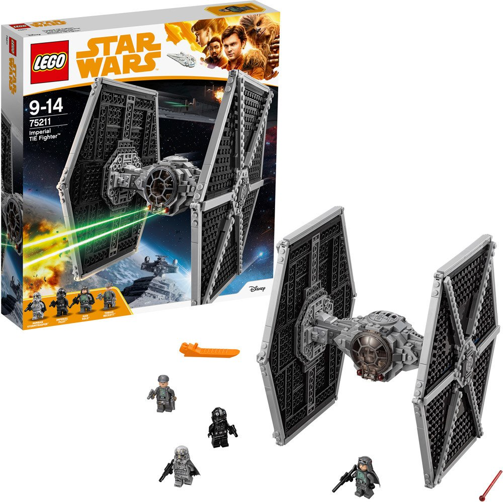 lego star wars 75211 imperial tie fighter lego jetzt online kaufen. Black Bedroom Furniture Sets. Home Design Ideas