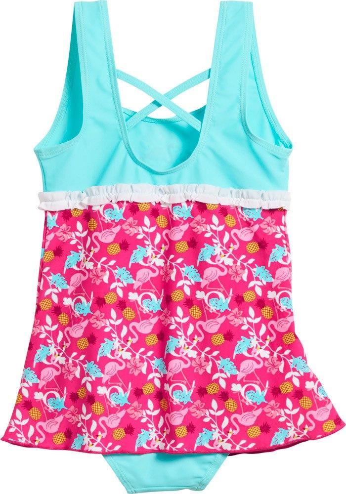 playshoes uv schutz badeanzug mit rock flamingo badeanzug jetzt online kaufen. Black Bedroom Furniture Sets. Home Design Ideas