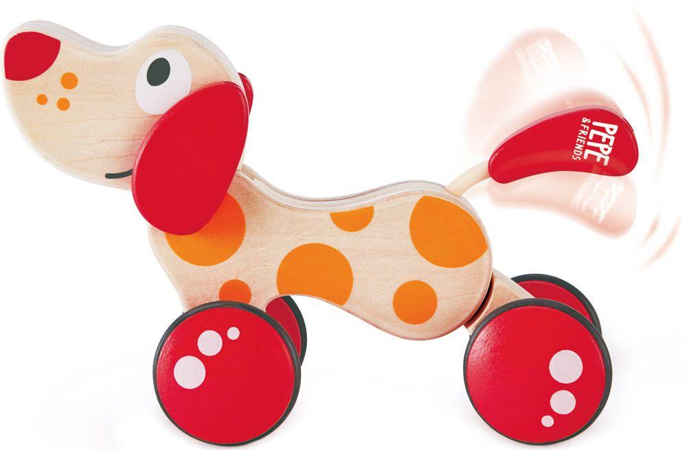 """Hape Nachziehhund """"Pepe""""   Ziehspielzeug - Jetzt online kaufen"""