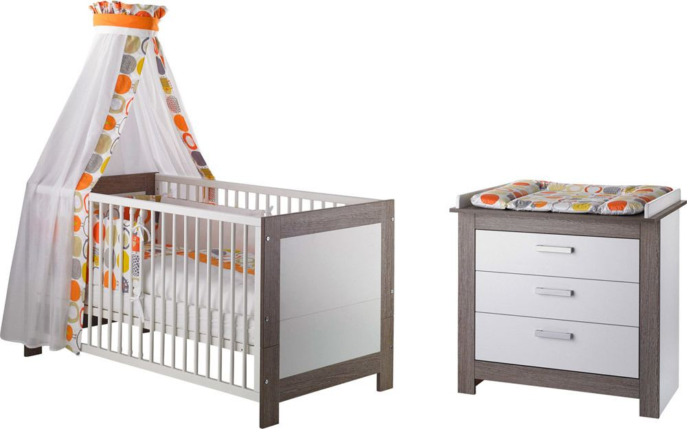 Geuther Babyzimmer Marlene Wenge-Weiss » Babyzimmer 3-teilig - Jetzt ...