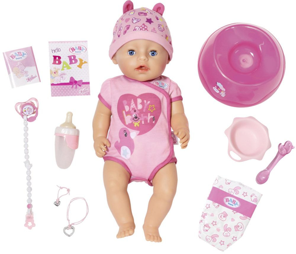 Zapf Creation Baby Born 174 Soft Touch Girl 187 Stoffpuppen