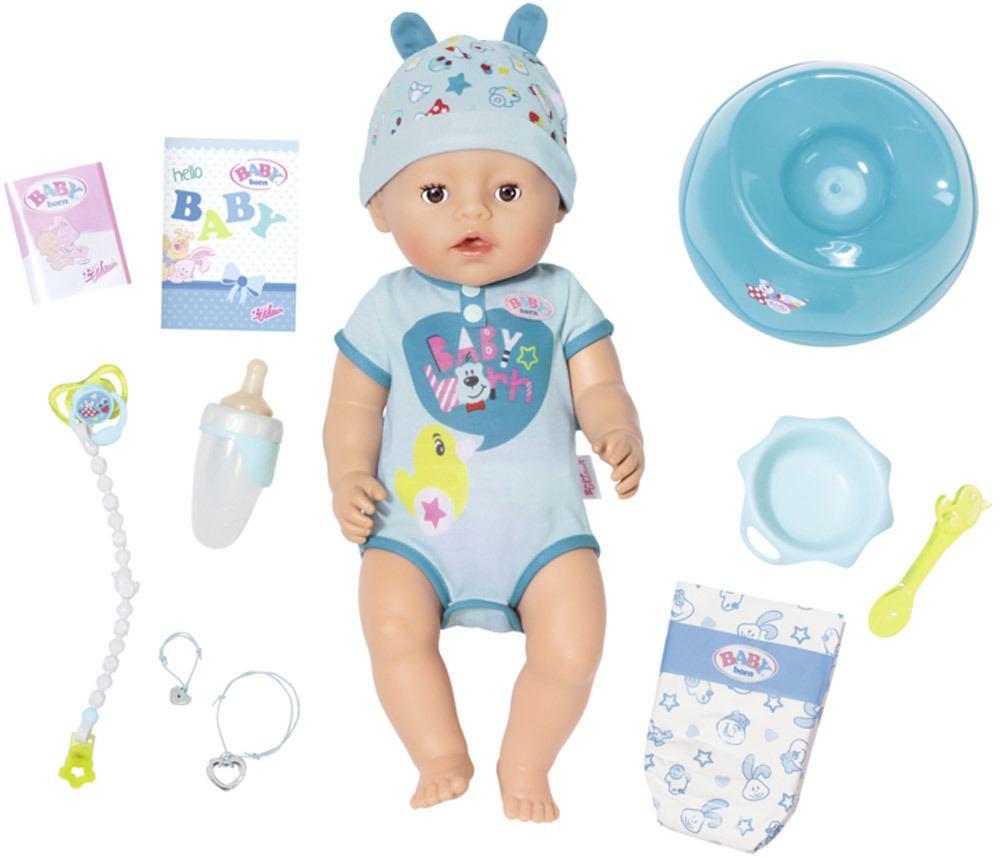 Zapf Creation Baby Born 174 Soft Touch Boy 187 Stoffpuppen