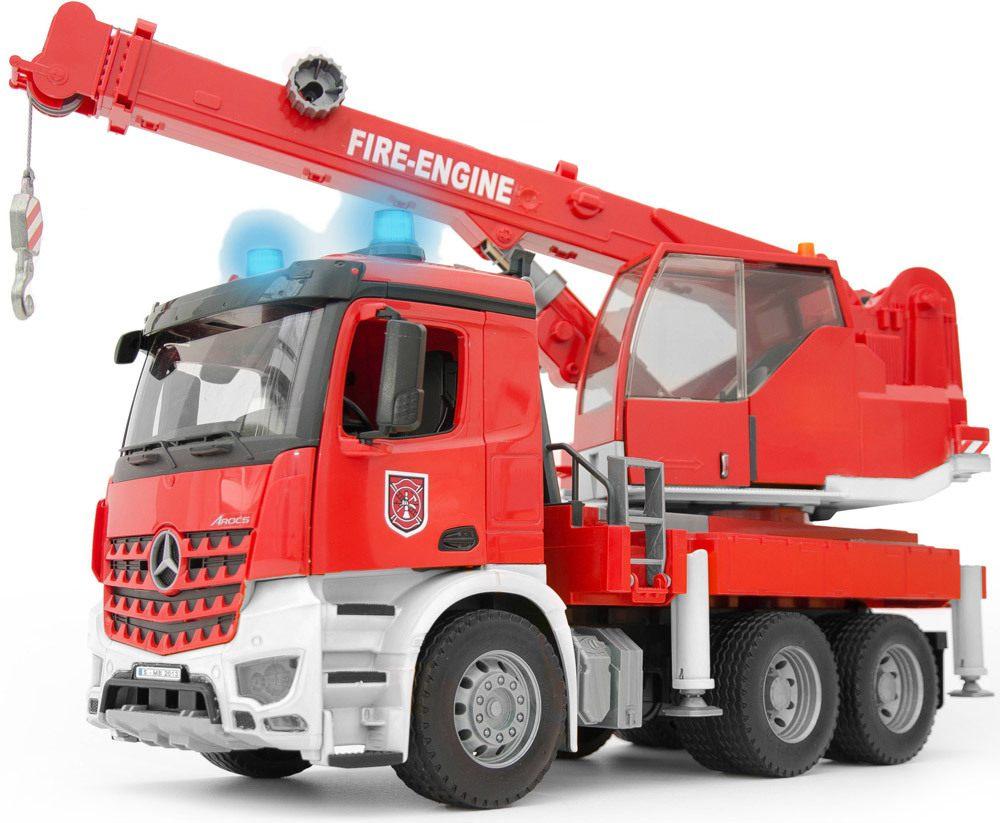 BRUDER MB Arocs Feuerwehr Kran   Feuerwehr, Krankenwagen & Polizei - Jetzt online kaufen
