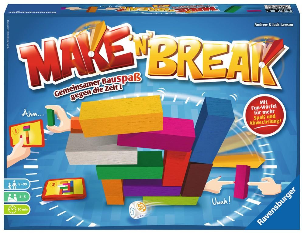 Ravensburger Gesellschaftsspiele Make & 39;n& 39; Break   Gesellschaftsspiele - Jetzt online kaufen