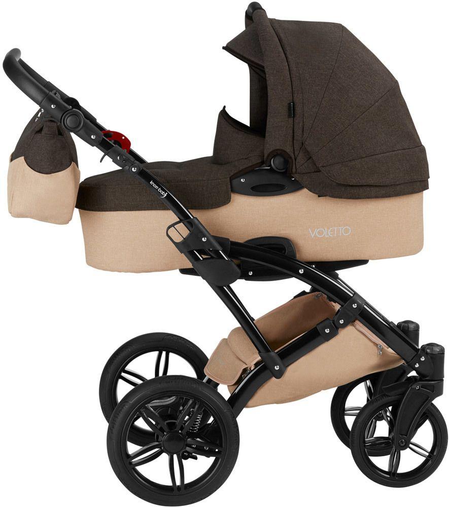 knorr baby kinderwagen set 3 in 1 voletto kombikinderwagen jetzt online kaufen. Black Bedroom Furniture Sets. Home Design Ideas