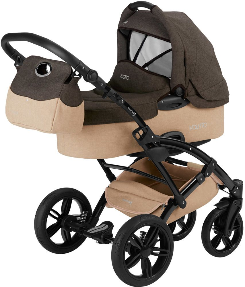 knorr baby kinderwagen set 3 in 1 voletto. Black Bedroom Furniture Sets. Home Design Ideas