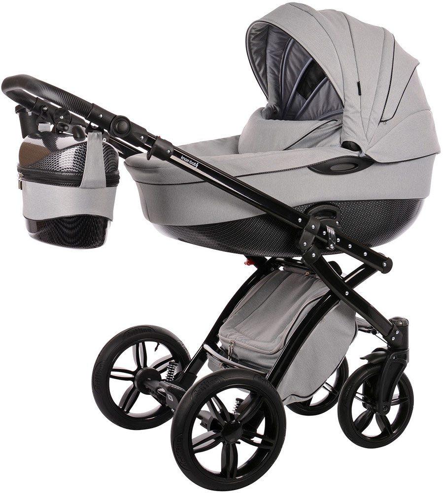knorr baby kombikinderwagen alive be carbon. Black Bedroom Furniture Sets. Home Design Ideas