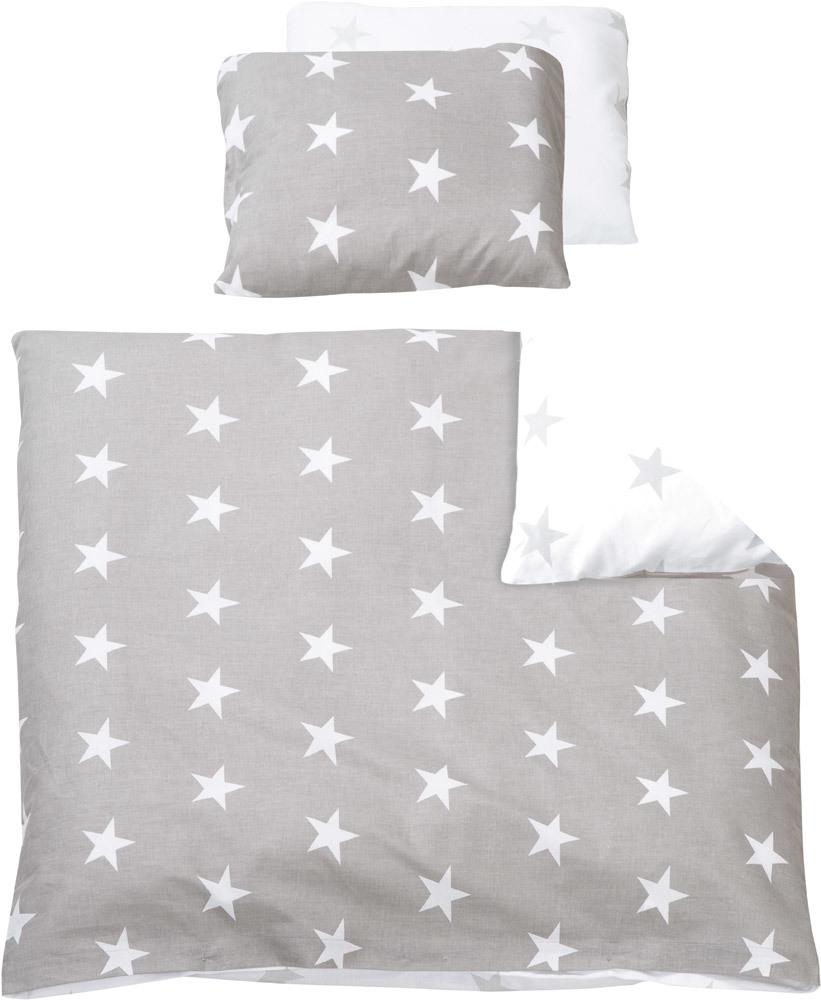 roba wiegenset little stars baby bettw sche set jetzt online kaufen. Black Bedroom Furniture Sets. Home Design Ideas