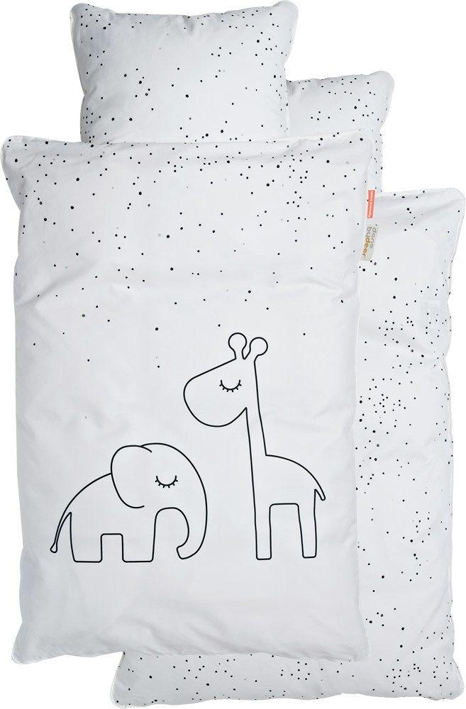 Done By Deer Juniorbettwäsche Dreamy Dots Kinderbettwäsche 100x135