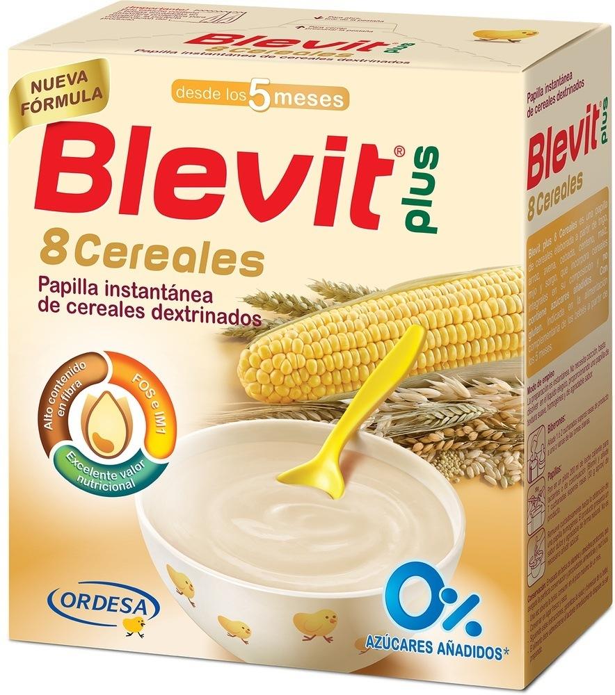 blevit 8 cereales con leche