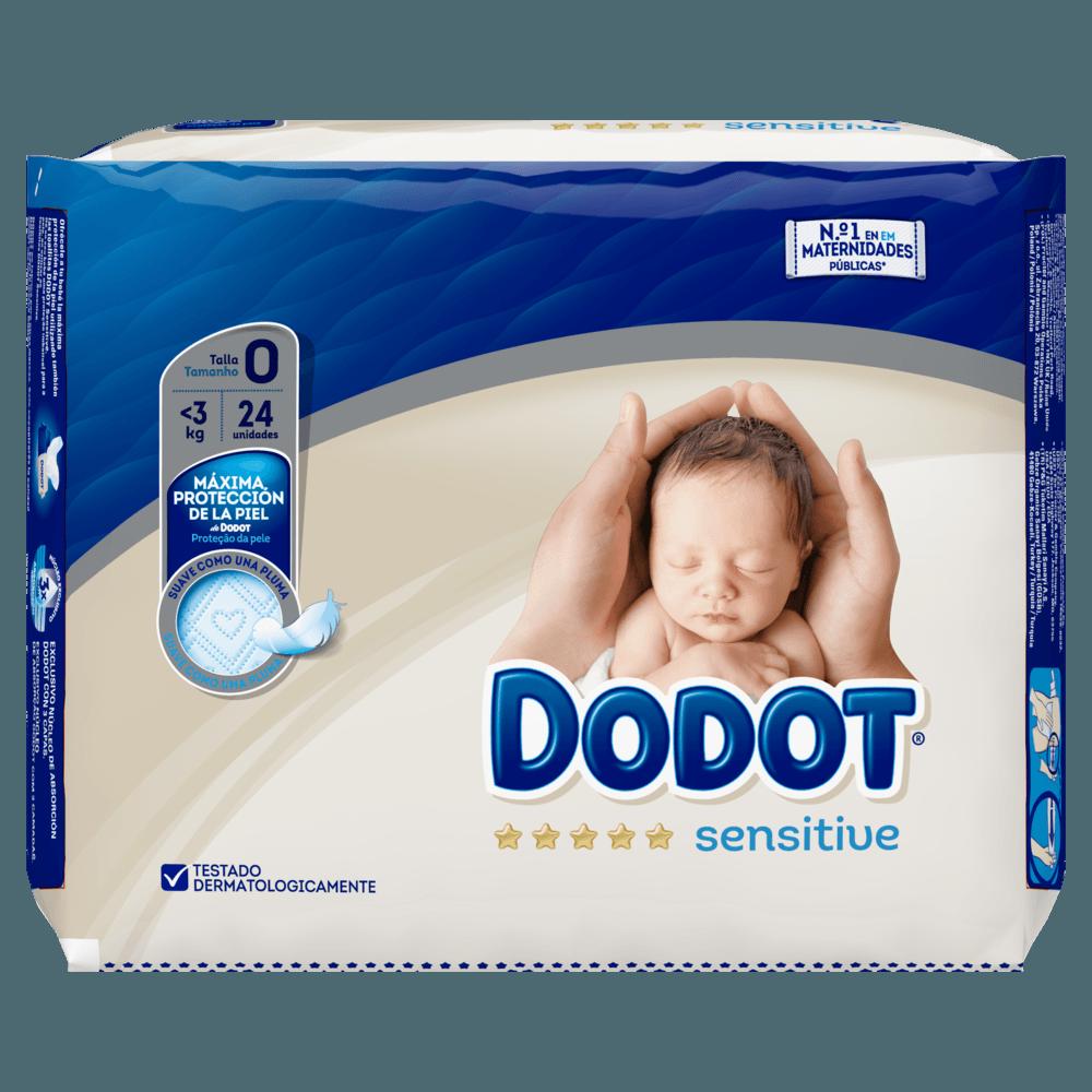 ef4fbb470618 Pañales Dodot Sensitive Recién Nacido 24 uds - Pañales   bebitus.com