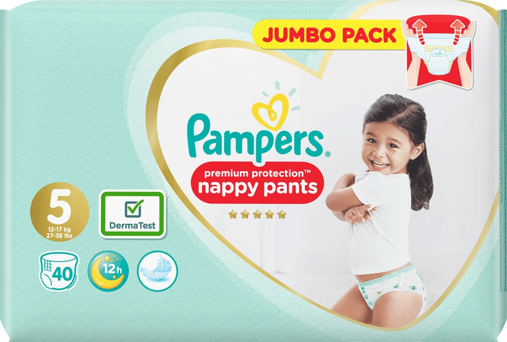pampers premium protection pants 4 5 6 jetzt online kaufen. Black Bedroom Furniture Sets. Home Design Ideas