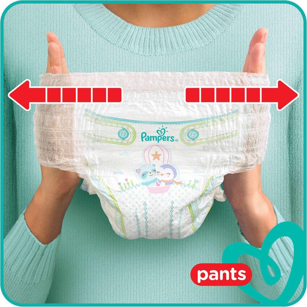 Pampers Pants Ausziehen