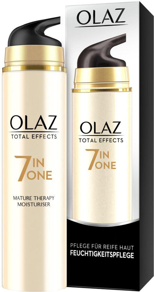 OLAZ Total Effects Feuchtigkeitspflege + Anwendung für..