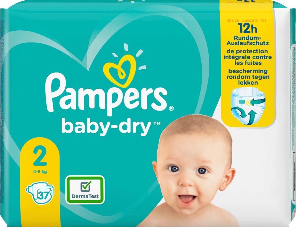 Pampers Monatsbox Babydry Junior Plus Luftkanäle Atmungsaktive Trock Monatspack